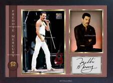 Freddie Mercury Queen signed autograph pop Music FRAMED photo print