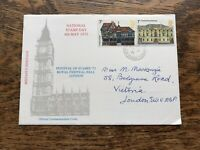 Gb 1975 Fdc Architecture, National Stamp Day, Festival Of Stamps 75