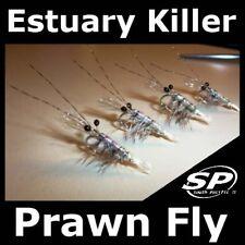 2018 Estuary Killer Saltwater PRAWN shrimp flies for Fly Fishing rod reel line