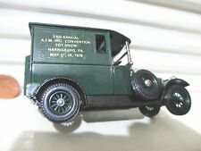 Lesney Matchbox Models of Yesteryear 1978 Y5 AIM 2nd TOY SHOW PA.1927 TALBOT VAN