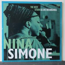 NINA SIMONE 'Best Studio & Live Recordings' Gatefold Vinyl 2LP NEW/SEALED