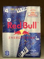 Limited Edition 4 Pk Red Bull Energy Drink Canadian Music Festival (Empty Cans)