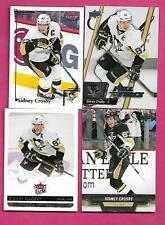 4 X 2000S PENGUINS SIDNEY CROSBY NRMT-MT CARD  (INV# C1048 )