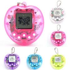168 Pets in 1 Transparent Peach Design Virtual Cyber Tamagotchi Pet Toy AU HF