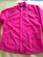 Lightweight Polyester Coat Jacket Fit 8 10 Red Decathlon Creation