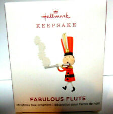 Hallmark 2019 - FABULOUS FLUTE -  Miniature Ornament - NEW IN BOX