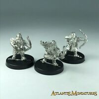 Metal Dwarf Archer X3 - Warhammer LOTR / Lord of the Rings X1651