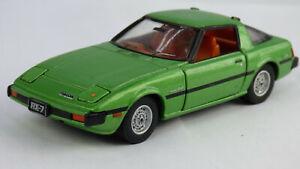 Tomy Tomica 1:43 '79 Mazda Savanna RX7 Green Sports Car Toy Rotary Engine Wankel