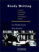Study Writing: A Course in Written English for Academic and Professional