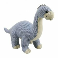 "Brontosaurus - Knitted plush soft toy 11.5"" - Soft plush toy"