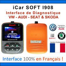 Valise Diagnostique VOLKSWAGEN AUDI SEAT & SKODA - iCarSOFT I908 - COM VAG OBD