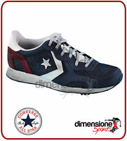 SCARPE CONVERSE blu ALL STAR TG. 43 US 9,5 152675C AUCKLAND RACER PELLE SHOES