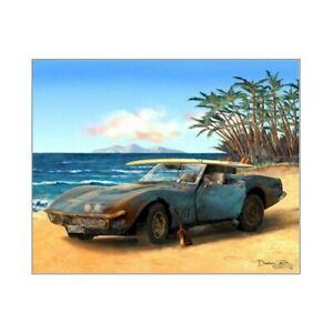Corvette Stingray Art Print ~ Cruiser Art Gallery