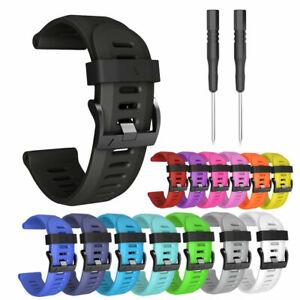 🟠🟠GB3- 26mm Armband Uhrenarmband Ersatz Strap für Garmin Fenix 3 Uhr 🟠🟠