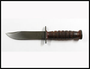 Vintage NICE RARE SCHRADE-WALDEN NY USA Pilot Survival Knife 1953-1957 LOOK