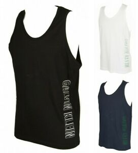 Tank t-shirt sleeveless man men's CK CALVIN KLEIN item KM0KM00336 JERSEY TANK