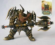 Hot World Of Warcraft Series 1 Dwarf Warrior THARGAS ANVILMAR Action Figure Toy