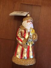 Patricia Breen Santa Eiffel Tower Ornament Nwt