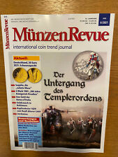 MÜNZEN REVUE Nr. 6 Juni 2021, neuwertig und ungelesen