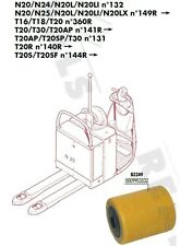 GALET 85 105 110 20 mm TRANSPALETTE ELECTRIQUE FENWICK LINDE T16 T18 T20 N°360R