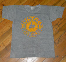 RaRe *1970s BULTACO MOTORCYCLE* vtg soft triblend rayon t-shirt (S) 1975 PLAYBOY
