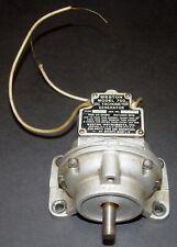 Weston Model 750 Type A DC Direct Current Tachometer Generator 6V/1000 RPM WORKS