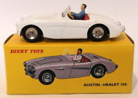 Atlas Editions Dinky Toys 546 - Austin Healey 100 - White
