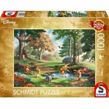 Thomas Kinkade Disney Winnie the Pooh 1000 Pieces Schmidt Jigsaw Puzzle