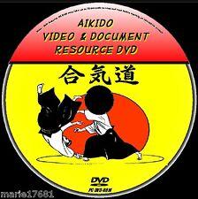 Yoshinkan AIKIDO risorsa didattica PC DVD-ROM con Video & libri universitari NUOVO