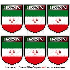IRAN Iranian Shield Persia, Persian Mobile Cell Phone Vinyl Mini-Stickers 4cm x6