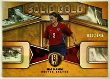 2019-20 Panini Gold Standard Mia Hamm #'d 32/149 Solid Gold USWNT United States