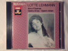 LOTTE LEHMAN Opera arias cd UK COME NUOVO LIKE NEW!!!