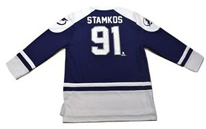 NHLPA Mens NHL Tampa Bay Lightning Steven Stamkos Hockey Jersey NWT S,M,L,XL,2XL