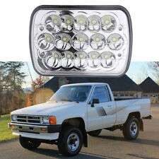 45W 7x6 LED Headlight Replace HID Inventory clearance Clear Sealed Beam Headlamp