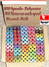 Hilo de coser Carretes Poliéster 100 Caja X 300 METRO CADA