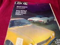 Look Magazine: Oct. 6, 1970 Edition-Subject: U S Cars of 1971 Auto Preview