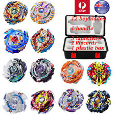 12x SET Beyblade Burst Evolution Arena Launcher Battle Stadium XMAS Gift Toy AU