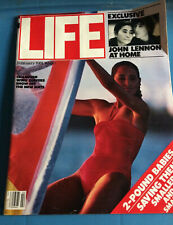 Vintage Life February 1981 John Lennon at Home, Champion Wind Surfers