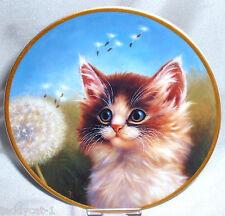 Schirnding Katzenporträts 5. Bradex Sammelteller = Ganz Auge und Ohr