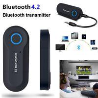 Adaptateur audio 3.5mm sans fil Bluetooth 4.2 Transmitter Music pour TV Phone PC