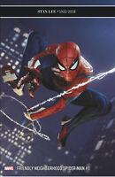 Friendly Neighborhood Spider-man #1 Lee Tribute Game Var. 1:10 Marvel Comic 2019