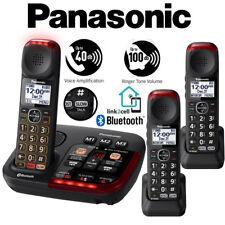 Panasonic Amplified 3 Cordless Phone Digital Answering Link2Cell KX-TGM430B