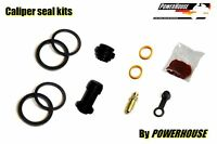 Honda CB-1 400 NC27 89-90 front brake caliper seal kit 1989 1990