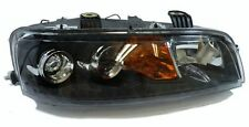 black clear finish right side headlight H7 front light for Fiat Punto 99-01