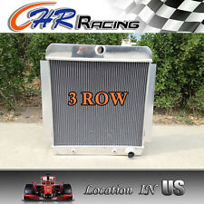 3 ROW for 1955-1959 CHEVY PICKUP TRUCK Aluminum Radiator AT MT 1956 1957 1958 59