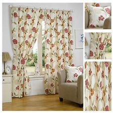 Bouquet Floral Lined Pencil Pleat Readymade Curtain Range By Hamilton McBride®