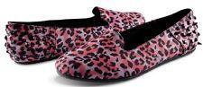 Volcom Stone SUMMER SCHOOL Womens Flat Shoes 7 US Cheetah NEW