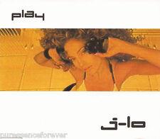 JENNIFER LOPEZ - Play (UK 4 Track Enhanced CD Single)
