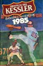 KESSLER WHISKEY 1985 Baseball Handbook 36-page brochure