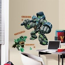 SKYLANDERS GIANT CRUSHER AND PRISM BREAK wall stickers MURAL 19 decals decor